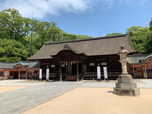 大山祇神社の境内