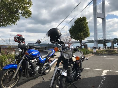 しまなみ海道とオートバイ